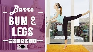 Barre Fitness for Bum and Legs by Lazy Dancer Tips