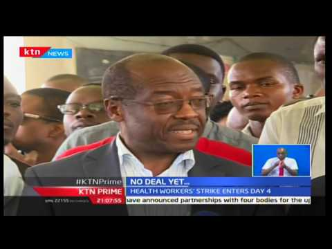 KTN Prime : No deal yet on talks between striking doctors and government