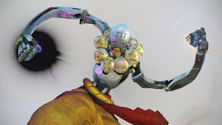 Funny Animations in Slow Motion [Overwatch]