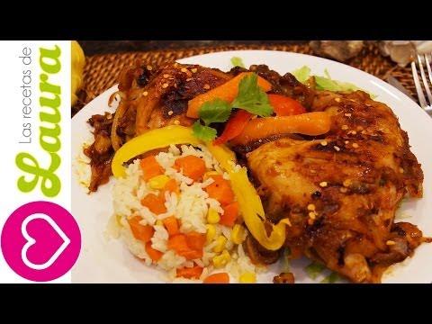 Pollo en salsa barbecue fácil – BBQ Chicken recipe – Comida Saludable
