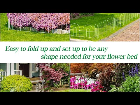 Decorative Garden Fence - [ BEST PRODUCTS to Buy on Amazon ]