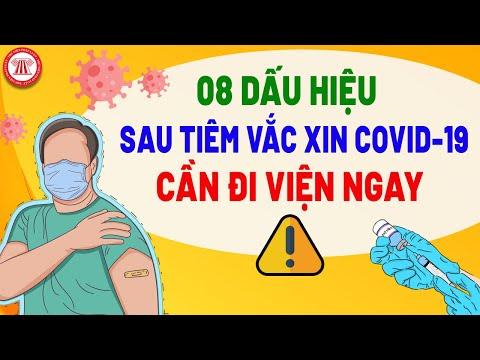 Cần Biết: 8 Dấu Hiệu Sau Tiêm Vắc Xin Covid-19 Cần Đi Viện Ngay!