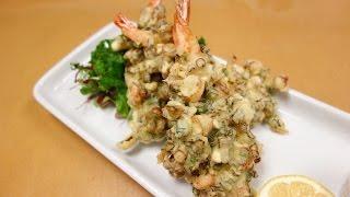 Special Shrimp Tempura and Tempura Batter Recipe – How To Make Sushi Series