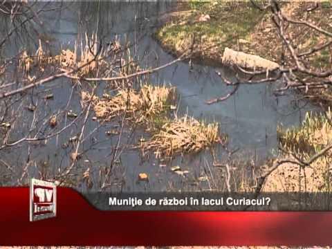 Muniţie de război în lacul Curiacul?