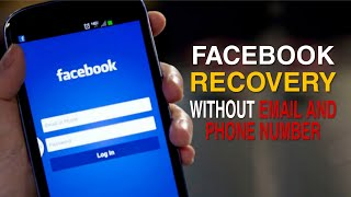 How to RECOVER FACEBOOK ACCOUNT without EMAIL and PHONE NUMBER |  Updated 2021 | Step by Step