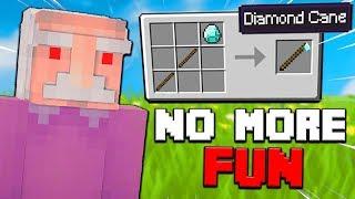 If Grandpas Created Minecraft