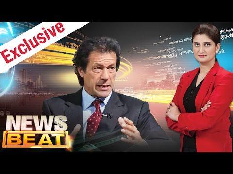 Imran Khan Exclusive | News Beat | SAMAA TV | Paras Jahanzeb | 08 April 2017