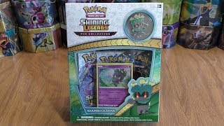 Marshadow Shining Legends Pin Collection Opening
