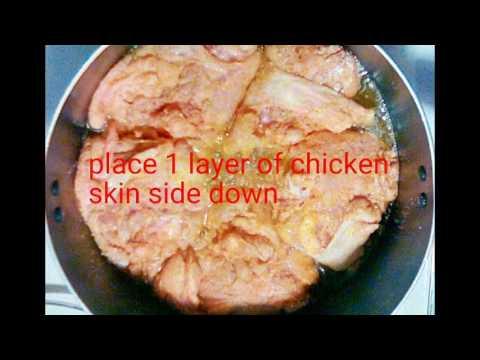 Smoked Paprika Fried Chicken