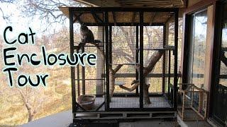 Homemade Cat Enclosure