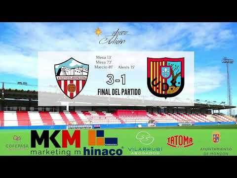 (2ª Parte / Últimos 15 Minutos)  AT MONZÓN 3-1 UD FRAGA / J 8 / 3ª División