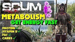 Scum Metabolism - How To Gain Energy In Scum Guide (Protein, Vitamin D, Fat & Carbs)