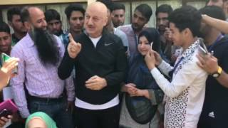 Loving words from the teacher himself to students of peace Anupam Kher