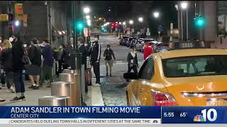 New Adam Sandler Movie Films in Center City Philadelphia | NBC10 Philadelphia
