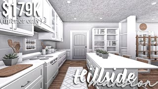 Hillside Mansion (part 2-interior) | Roblox Bloxburg | GamingwithV