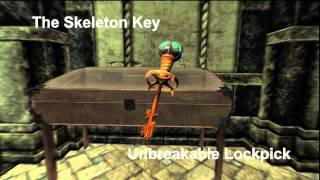 Skyrim: How to obtain The Skeleton Key; Unbreakable Lock Pick