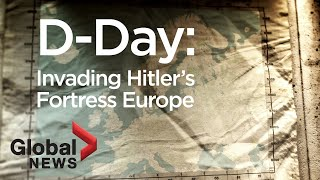 D-Day: How the Allies broke through Hitler's 'Fortress Europe'