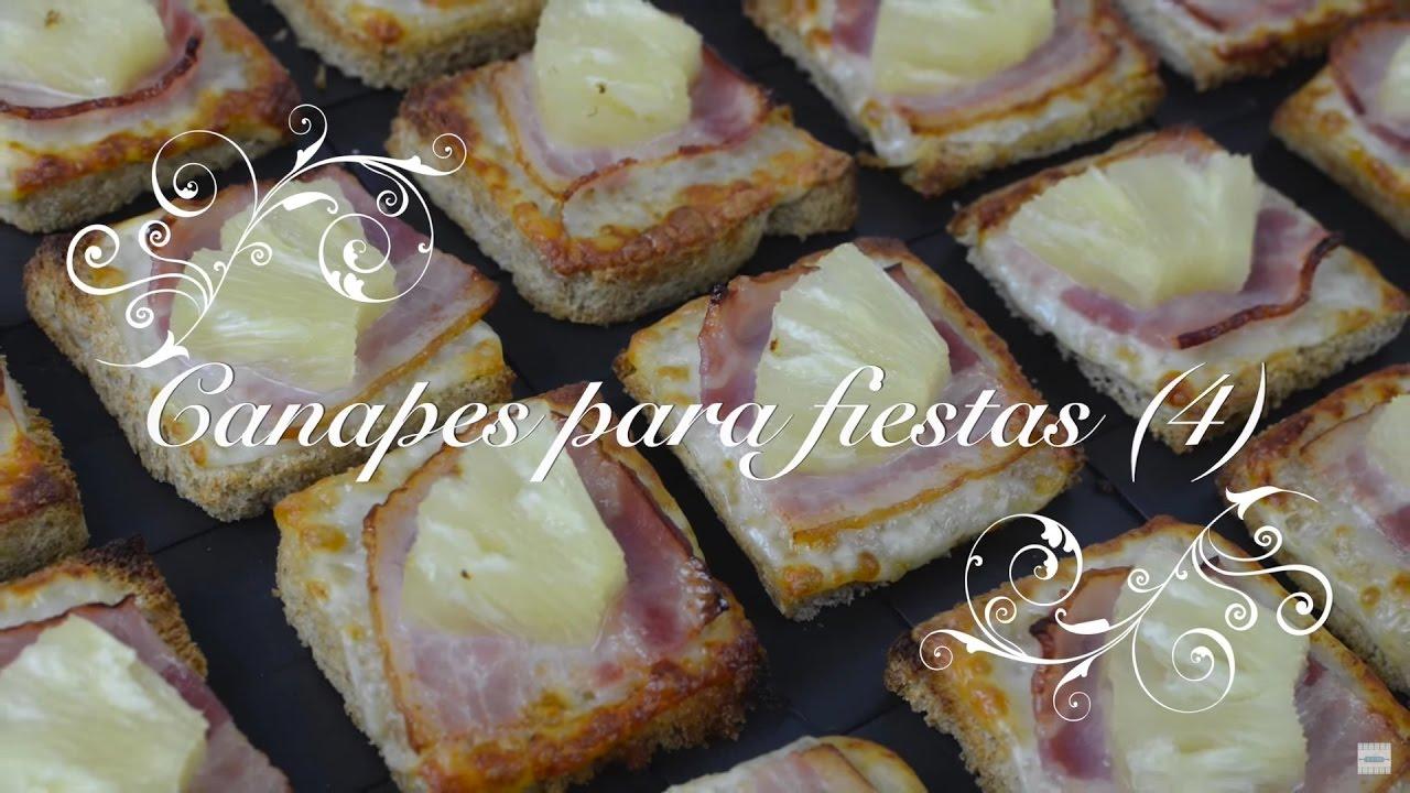 Canapes para fiestas 4 | Canapes faciles y baratos | Canapes faciles y rapidos  por chef de mi casa