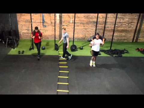 Obstacle Course Training Home Workout - YouTube
