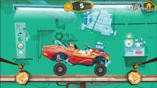 MONSTER TRUCK машинка ездит по ледяному озеру  Машинки для мальчиков  Мультфильм