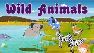 Learn About Wild Animals, Animal Sounds, Fun and Educational Videos for Kids