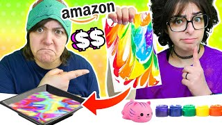 Cash OR Trash? Testing 3 NEW Craft Kits from Amazon Soap, Water Marble, Squishies