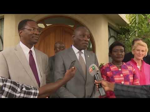 SWEDD : La Première Dame de Côte D'Ivoire primée