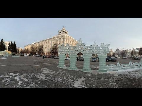 VR-360.Строительство ледового городка