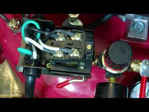 How to adjust condor mdr2 pressure switches? (with