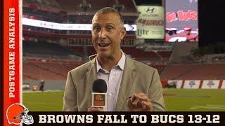 Browns vs. Buccaneers Postgame Analysis | Cleveland Browns