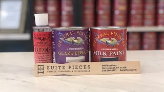 How To Use General Finishes Glaze Effects Over General Finishes Milk Paint!