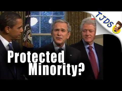 """Criminal Presidents are """"a Protected Minority""""!"""