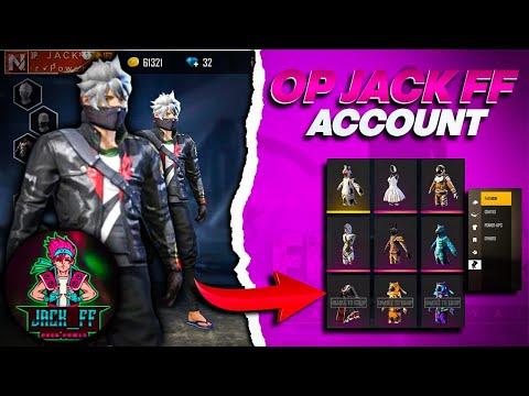 OP JACK FREE FIRE ACCOUNT II  استعراض حساب جاك فريفاير