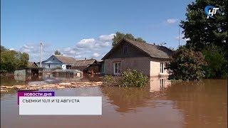 Накануне в Демянске и Мареве вновь прошли сильные дожди