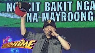 It's Showtime Singing Mo 'To: April Boy Regino sings 'Hindi Ko Kayang Tanggapin'