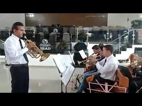 Ensaio da banda de musica louvor eterno de alto taquari mt