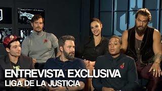 Entrevista al elenco de Liga de la Justicia