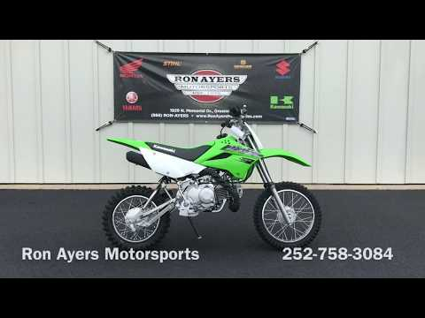 2019 Kawasaki KLX 110L in Greenville, North Carolina - Video 1