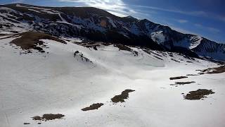 Icicles, Snowfields and The Top of the Rockies // FPV Freestyle // TBS Tango 2 фото