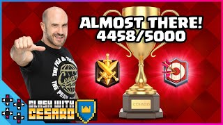 THE DIRTY THREE MUSKETEERS PLAY on THE ROAD TO 5000 TROPHIES! - Clash With Cesaro