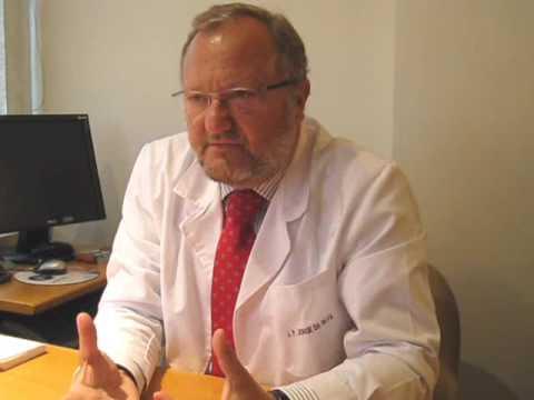 Inflamação dos sintomas da glândula da próstata