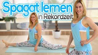 Spagat in Rekordzeit lernen   Spagatroutine & Tipps   VERONICA-GERRITZEN.DE