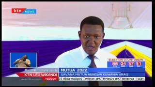 Gavana Alfred Mutua alaumu kinara wa Wiper Kalonzo Musyoka kwa maendeleo duni: KTN Leo Wikendi pt 2