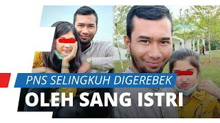 Detik-detik ASN Medan Kepergok oleh Sang Istri Selingkuh dengan Pegawai Minimarket di Kamar Hotel