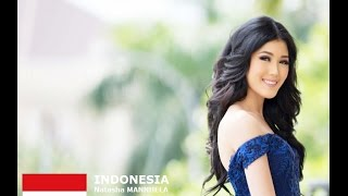 Natasha Mannuela Contestant from Indonesia for Miss World 2016 Introduction