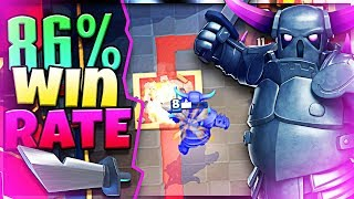 This 86% WIN RATE deck is INSANE! CLASH ROYALE