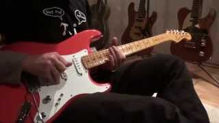 Riffs, licks & solo from Dire Straits - Setting me up
