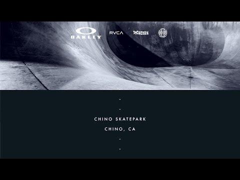 ON LOCATION - Chino Skatepark - Chino, CA
