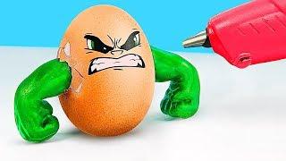 Пасхальный декор в стиле Супергероев – 9 идей / Необычные пасхальные яйца