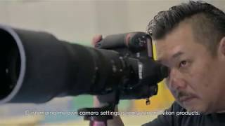 YouTube Video LkXkUkjFum0 for Product Nikon D6 Full-Frame DSLR Camera by Company Nikon in Industry Cameras
